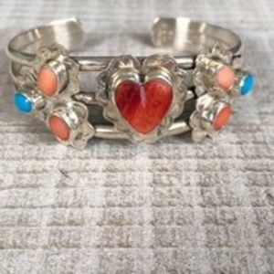Jewelry - Reserved/Navajo Sterling Silver Cuff